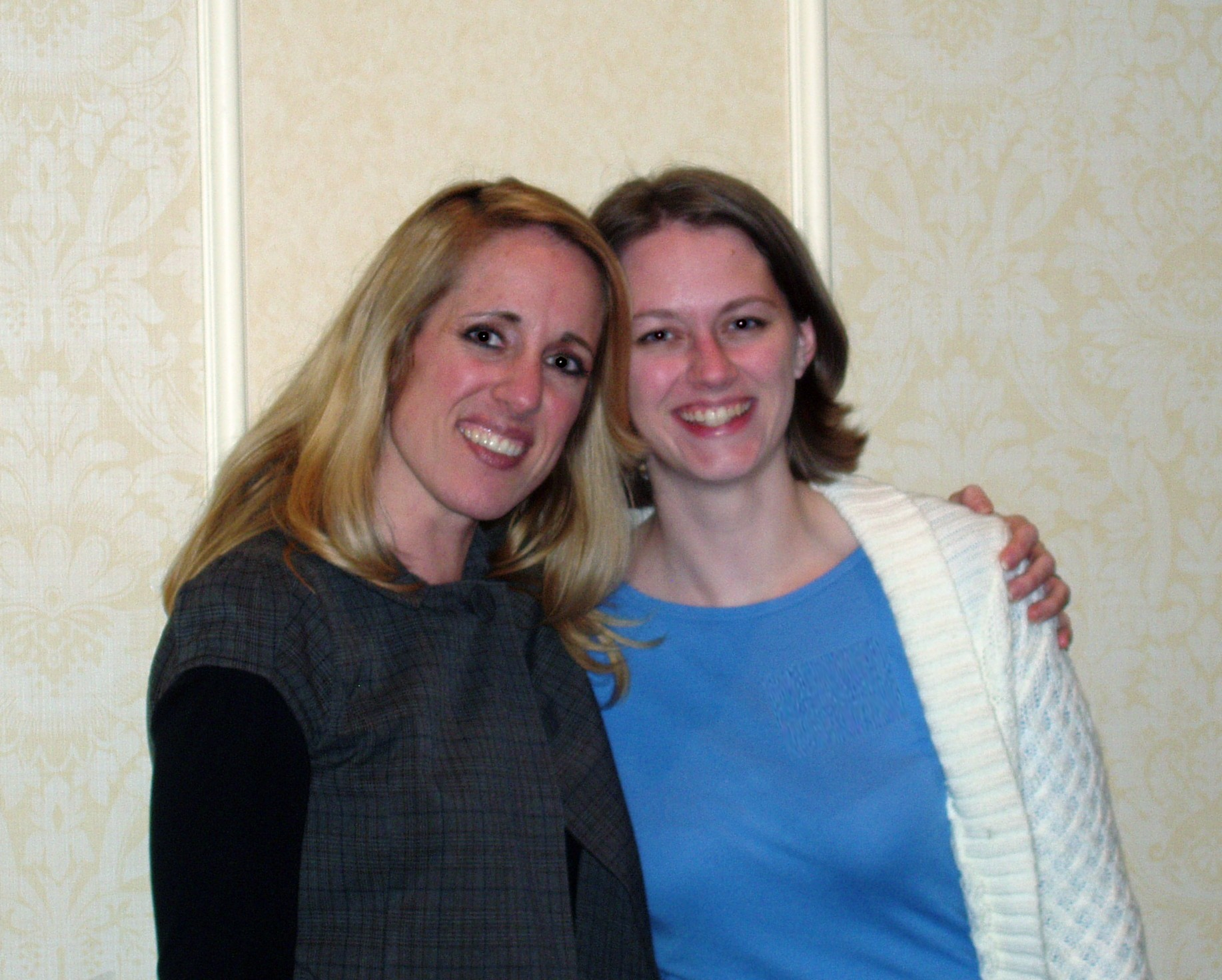 Wendy Piersall and me at the blogging for business conference